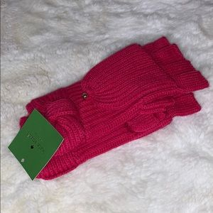 Kate Spade Bow Pop top gloves/mittens
